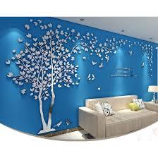 <b>3D</b> Acrylic Wallpaper <b>Tree Big Size</b> Wall Sticker Wall Decor RM25.00
