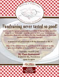 fundraiser at my place restaurant tuesday rd resiliency gala fundraiser flyer 2