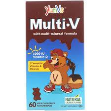 YumV s <b>Multi V with Multi-Mineral</b> Formula Milk Chocolate Flavor 60 ...