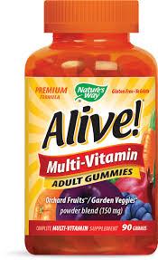<b>Alive</b>! Adult <b>Multi Gummies</b> / 90 ct - Nature's Way®.