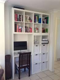 custom designed ikea hackers hackers clever book shelf wall shelves desk ideas unit ideas study ideas home ideas built bookcase desk ideas