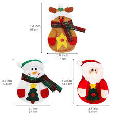 household dining table set christmas snowman knife: amazoncom auch pcs christmas cutlery bag kitchen silverware holders pockets suit santa claus snowman elk shaped knifes forks spoons pouch christmas