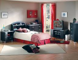 f charming room decorating design for boys with red tab top bedroom curtain and contemporary bedroom furniture sets plus brazilian cherry hardwood charming bedroom ideas red