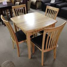 4 chair kitchen table: malaga extending dining table with  chairs