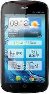 Compara moviles SmartPhonesAcer Liquid E2 Duo V370 con Acer ...