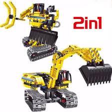 <b>Конструктор</b> 2 в 1 (экскаватор и робот) <b>QiHui Technics</b> 342 ...