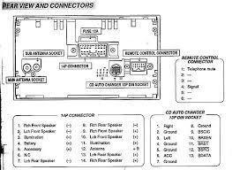 mitsubishi car radio stereo audio wiring diagram autoradio    mitsubishi mex   cdc