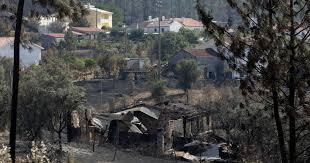 Incêndio provoca três desalojados em Vouzela