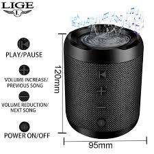 2019 <b>LIGE Mini Bluetooth</b> Speaker Portable Wireless Speaker ...