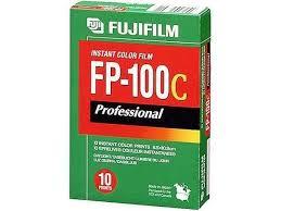 <b>Fujifilm</b> FP-100C Professional Instant <b>Color Film</b> ISO 100 (10 ...