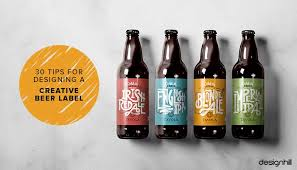 30 Tips For Designing A <b>Creative Beer Label</b>