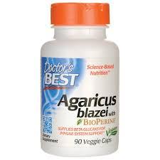 Doctor's Best <b>Agaricus Blazei with BioPerine</b> 90 Veg Caps - Buy ...