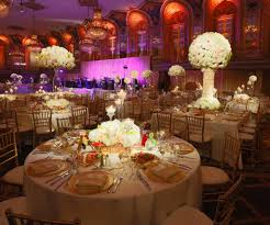 decor design hilton: design gallery wedding reception decor with floral centerpieces candle light and led light fixtures at the hilton chicago  x