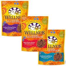 Wellness WellBites Soft & Chewy Dog Treats - 3 ... - Amazon.com