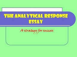 how to write a classical studies essay step  do not panic  the analytical response essay a strategy for success