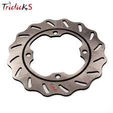 Triclick <b>220mm Motorcycle Rear Brake</b> Disc Rotor Wavy Brake Disks ...