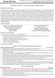 resume for a warehouse job  seangarrette coresume