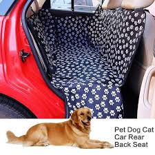 <b>Pet carriers Oxford</b> Fabric Paw pattern Car Pet Seat Cover Dog Car ...