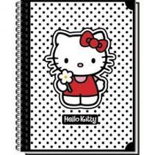 "<b>Тетрадь общая на</b> гребне ""Hello Kitty Classic White"""