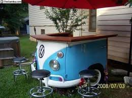 diy outdoor bar table
