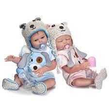 Minidiva Reborn Baby Dolls, 2pcs 20 inch/50cm Boy ... - Amazon.com
