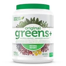 Genuine Health <b>Greens Plus</b> Original – Natural Health Garden