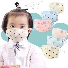Infant Baby Kids Winter <b>Cotton Anti Dust Mouth</b> Mask Cartoon Fish ...