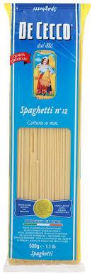 <b>Макароны De Cecco</b> спагетти №12 500г купить с доставкой ...