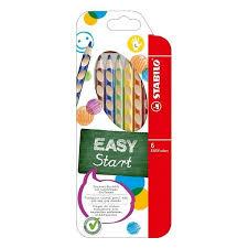 Купить <b>цветные карандаши Stabilo</b> Easycolors 6 шт для левшей ...