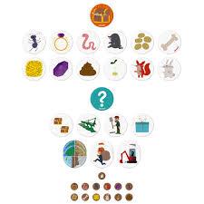 <b>Игра</b> настольная <b>Janod</b> «Сокровища в саду» артикул J02689 ...