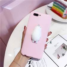 Online Shop Cute Squishy Case 3D <b>Bunny Kitty Bear</b> Cartoon ...