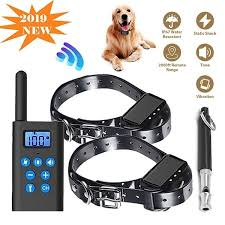<b>800M</b> IP6X Waterproof <b>Pet Dog Training</b> Collar Eectric Remote ...