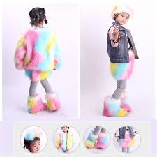 <b>SWONCO</b> Children <b>Snow Boots Winter</b> 2019 New Girl Faux Fox Fur ...