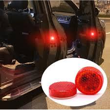 <b>2x</b> LED <b>Car Door Warning</b> Lights Accessories Sticker For Nissan ...