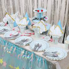 New cartoon <b>unicorn theme</b> birthday party <b>supplies decoration</b> set ...