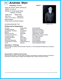 technical theater resume template theater examples child actor acting resume samples template format doc microsoft word 2010 sample theatre resume resume sample