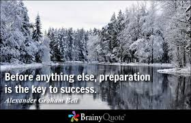 Preparation Quotes - BrainyQuote via Relatably.com