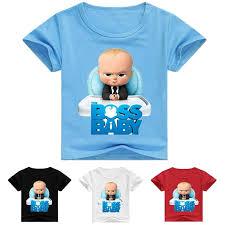 boss <b>baby boys</b> clothing <b>kids</b> fashion <b>boy t</b> shirt cotton <b>cartoon</b> short ...