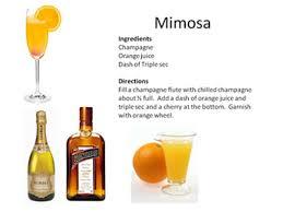 Resultado de imagem para mimosa drink
