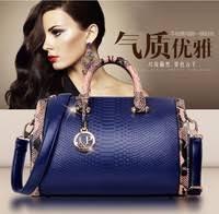 2015 <b>New</b> Crocodile Pattern PU leather <b>women</b> handbags,Vintage ...