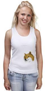 <b>Майка классическая Doge</b> WOW! #659679 от karbafoss по цене ...