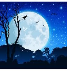 Bird, <b>Tree</b> & <b>Moon</b> Vector Images (over 910)