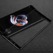 <b>Защитное стекло 5D</b> для Xiaomi Redmi Note 5, черное