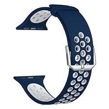 <b>Силиконовый ремешок Lyambda</b> Alioth для Apple Watch 42/44 ...