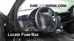 interior fuse box location 2001 2007 mercedes benz c230 2007 interior fuse box location 2001 2007 mercedes benz c230