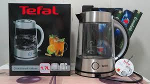 <b>Чайник Tefal</b> KI760D30 - Стеклянный ЭЛЕКТРОЧАЙНИК ...