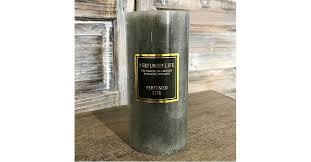 Купить <b>ароматическая свеча perfumed</b> life 7*15см серая в ...
