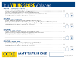 viking score career preparation year by year ana college viking score career preparation year by year