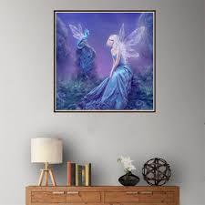 <b>1 Набор DIY 5D</b> алмазные эльфы Ангел девочка Алмазная ...