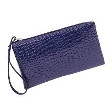 Women Casual <b>Zipper Wallet Long Purse</b> Handbag PU Leather ...